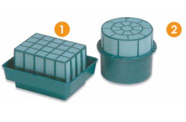 Rectangular & Cylinder Holder