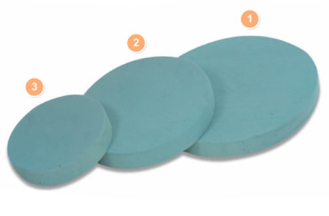 Ring Pad (Wet Foam)
