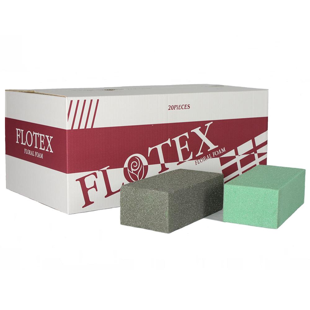 Dry foam(polyurethane/PU foam) for artificial floral designs.